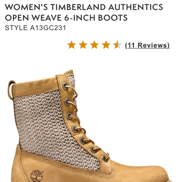 Timberland Authentic Open Weave Boutique